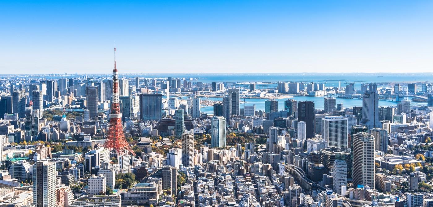 写真:東京の街並み